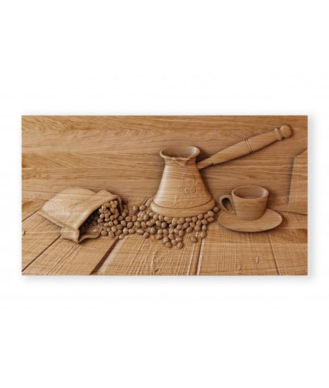Панно «Кофейный натюрморт»