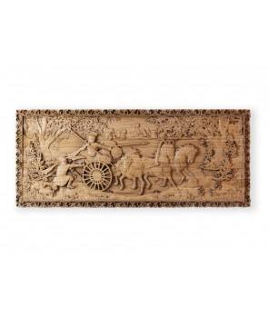 Панно «Римляне на колесницах»