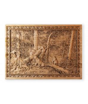Панно «Утро в лесу»